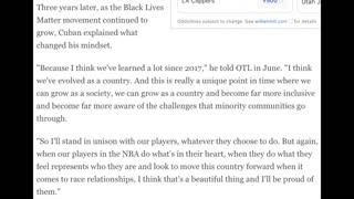 Dallas Mavericks National Anthem Story