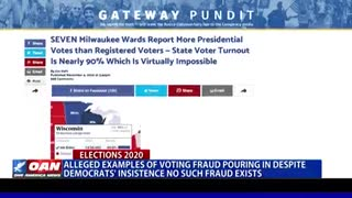 voting fraud pouring in