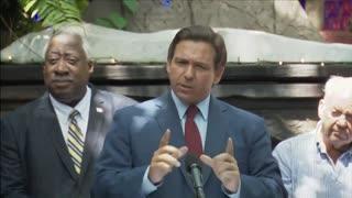 Crowd Erupts in Applause After Ron DeSantis SLAMS Lockdown Lobbyist