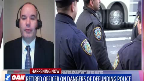 Retired officer discusses dangers of defunding police