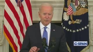 Biden Battles Teleprompter During Disaster Speech, Loses Badly !