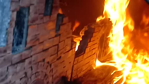 The Burning of Firelink Shrine2