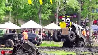 Amazing Dangerous Idiots Dump Trucks | Off Road Monster Truck Driving Fails | Doodles