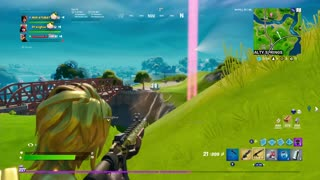 Fortnite | Victory royale in squads.