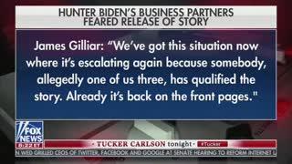 Tucker Releases BOMBSHELL Audio From Biden Family Business Partners