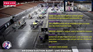Today's live Coverage of the Arizona Election Audit
