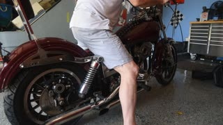 78-1/2 Harley First Start Up in 20+ Years