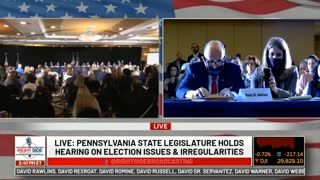 Trump's full remarks at the PA State Senate hearing on voter fraud in the 2020 Election
