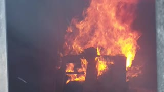 Live Structure Fire Training