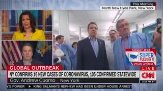 Gov. Cuomo on the coronavirus fears