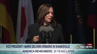 """Kamala Harris in 9/11 Speech: """"Muslim Americans Were Targeted Because of How They Looked"""""""