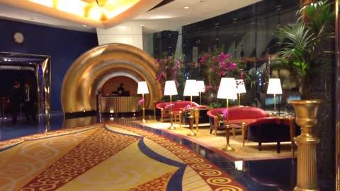 Burj Al Arab Jumeirah - Hotel Lobby