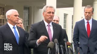 Kevin McCarthy accuses Chuck Schumer of lying about meeting