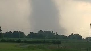 Tornado Forming in Field