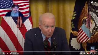 Whispering Biden