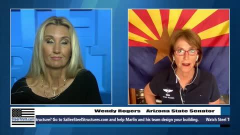 AZ Senator Wendy Rogers on SteelTruth 10/18/2021