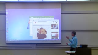 April Fools Prank By Math Professor Who Needed To Fix His Projector