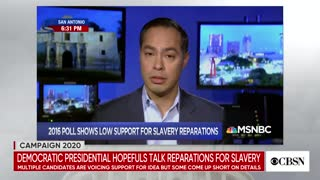 Democrat presidential candidates coming out in support of reparations
