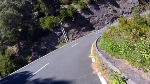 Fietsen op La Palma.