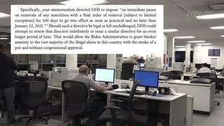Texas AG Sues Biden Admin Over Deportation Halt