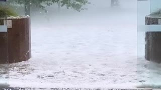 Supercell Causes Huge Hailstorm in Canberra