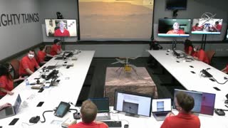 """NASA releases video of Helicopter flight on Mars """"Wow!"""