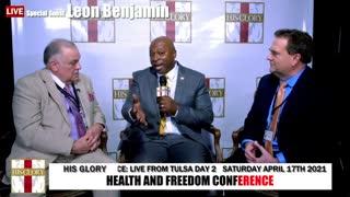 Benjamin Leon: Health and Freedom Conference Tulsa Day 2