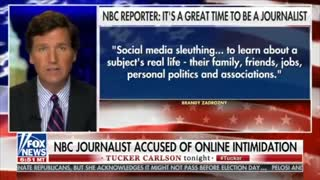 Tucker Carlson Exposes NBC Reporter Who Doxxes Trump Supporters
