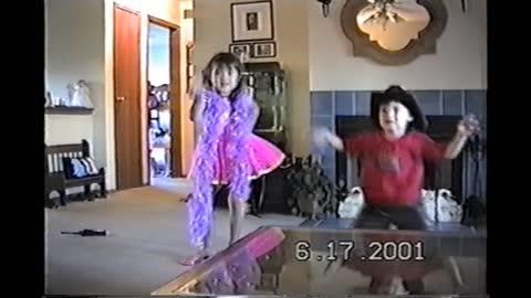 Kid's dancing
