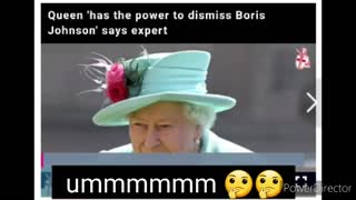 The Queen is related to Boris Johnson