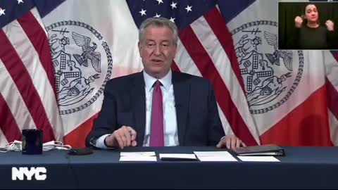 NYC Mayor Is Left SPEECHLESS When Confronted About Mask Mandates