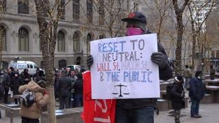GameStop Frenzy Brings Wall Street Protest