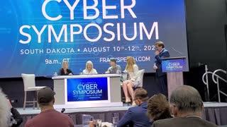Virginia Senator Amanda Chase speaks at Cyber Symposium Part 2 of 2