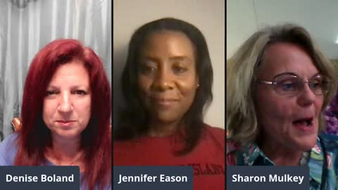 Friday Ladies' Chat with Sharon Mulkey and Jennifer Eason - NO FEAR!!