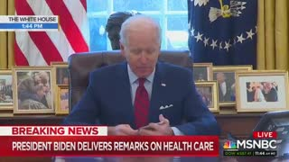 Biden Attempts to Speak Coherently With Mixed Results