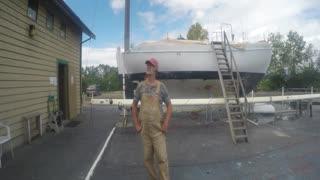 Intensive work Day 11: Working below the waterline