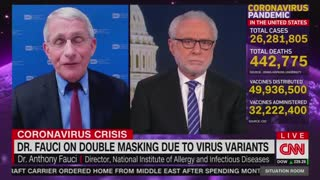 Fauci Flips AGAIN And Says People Should Double Mask