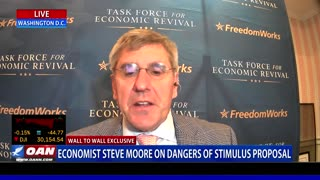Wall to Wall: Stephen Moore On Unemployment Benefits