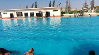 Summer Swimming Pool Vacation