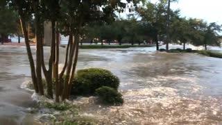 Flooding Flows Down Streets as Traffic Crawls