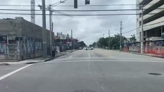 Building About To Collapse In Miami, FL