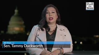 Sen. Tammy Duckworth talks military families and Biden's sacrifice, during DNC address
