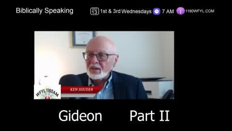 Gideon Part II | Biblically Speaking