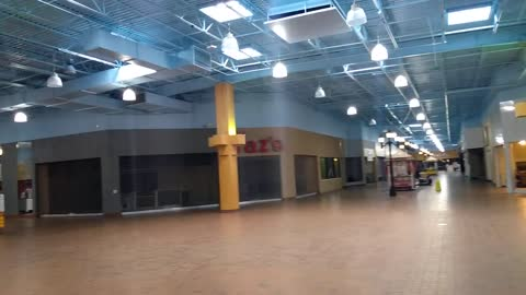 Nearly Empty Carnation Mall Alliance Ohio More Footage