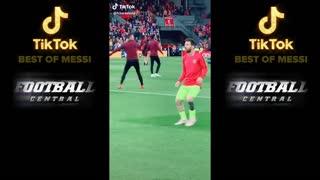 The funny videos of Lionel Messi _TikTok