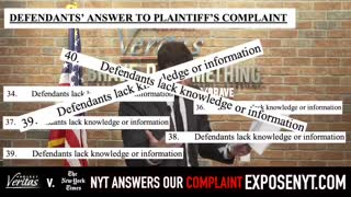 New York Times Makes SHOCKING Admission in Court Docs in Project Veritas Lawsuit