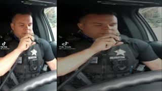 Officer DUNKS on Lebron James in Skit Viral tiktok Video