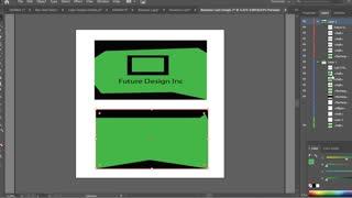 Business Card Design In Adobe Illustrator