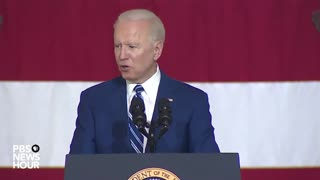 """Biden Attempts To Quote Declaration Of Independence: """"Life, Liberty, Etc."""""""
