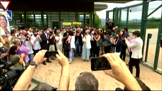 Catalan leaders freed form prison, demand amnesty